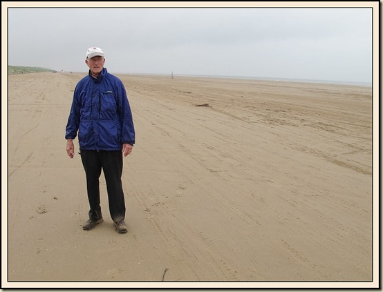 Tim Wood on Ainsdale Sands - 26/6/12