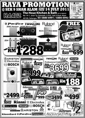 houz-kitchen-Raya-promotions-2011-EverydayOnSales-Warehouse-Sale-Promotion-Deal-Discount