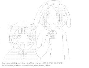 [AA]山岸沙希 & 藤宮香織 きぐるみ (一週間フレンズ。)
