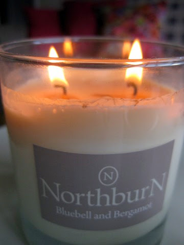 NorthBurn-Bluebell Bergamot-scented-candle