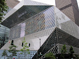 The Seattle Public Library main building