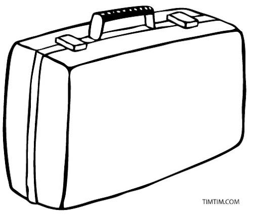 Image Result For Baggage Coloring Book