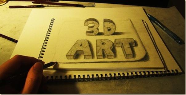 Incroyables dessins au crayon en 3D par Nagai Hideyuki-016