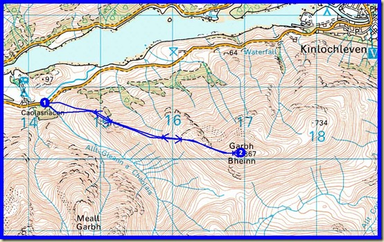 My route - 6 km, 860 metres ascent, 3 hours