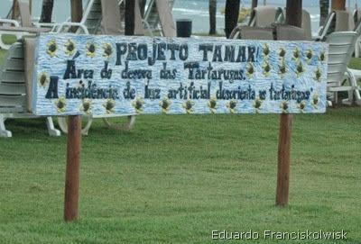 Projeto TAMAR - Placa