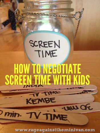 How to negotiate screen time with tech-obsessed kids