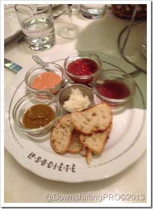 La Societe__PETIT TRAY_Sauces_@DownshiftingPRO