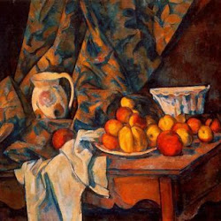 Paul Cezanne (1905): Still Life with Apples and Peaches. The National Gallery of Art. Washington. Postimpresionismo
