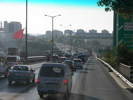 Iesirea din Istanbul spre Romania