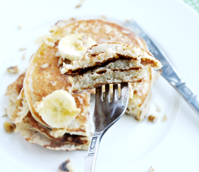 banana bread protein pancakes 063