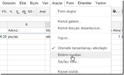 google-form-mail-bildirimi