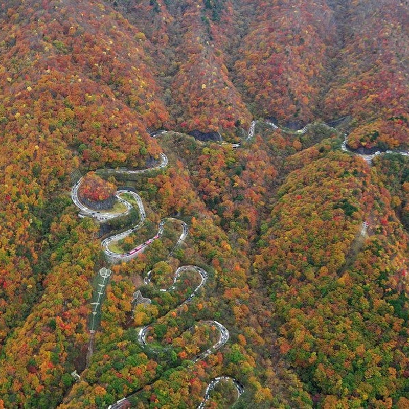Irohazaka Winding Road, Japan