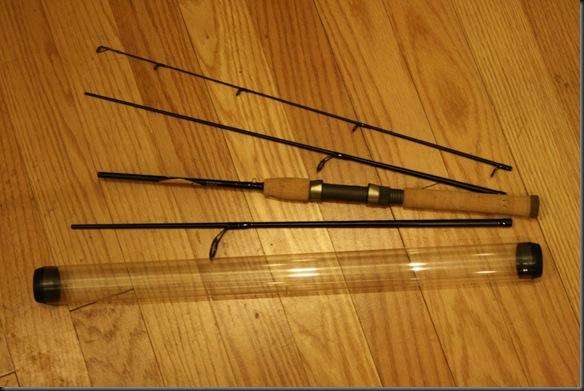 Diy ultralight fishing rod case outdoors for Fishing rod case diy