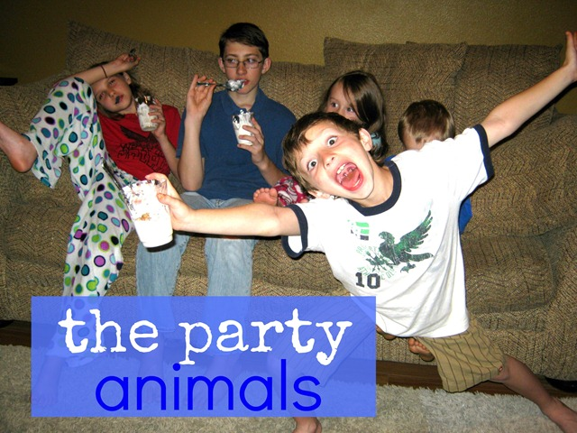 we bought a zoo party