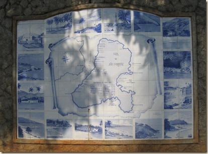 Mapa São Sebastião ladrilhos