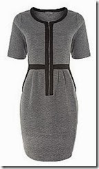 Pied a Terre Quilted Sweater Dress