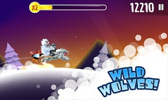 Screenshot of Ski Safari