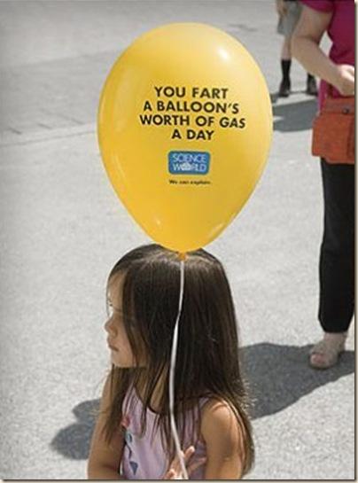 gas baloon