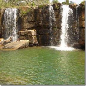 Cachoeira do Arrojado em Cristalina-GO Autor Luciano Attie