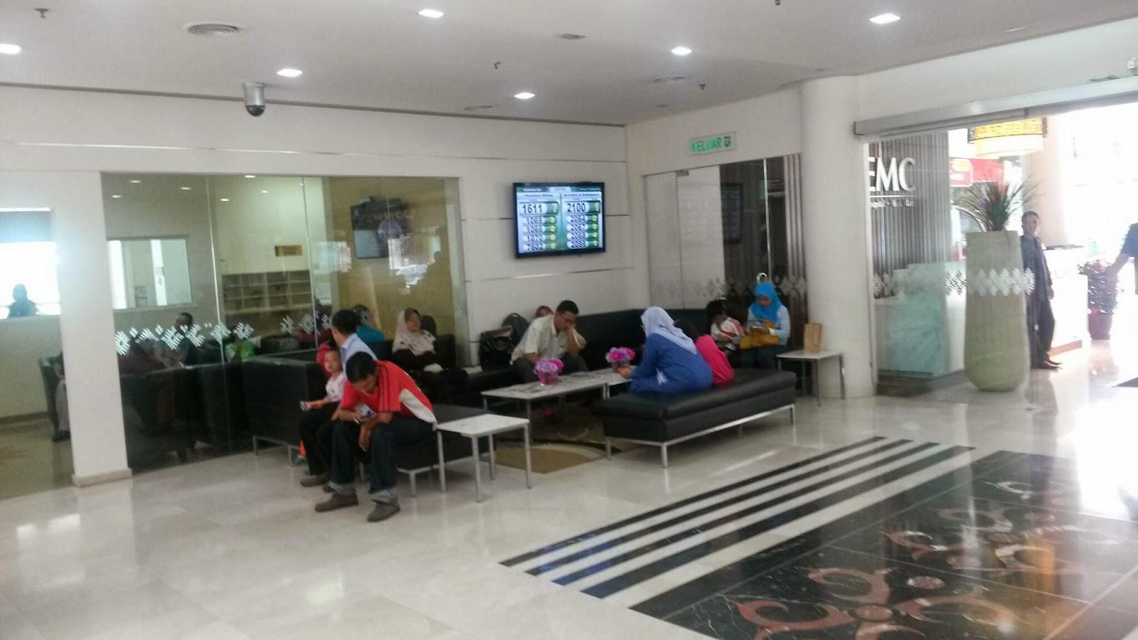 hospital,demc,ramai,orang,isnin,sibuk,penuh