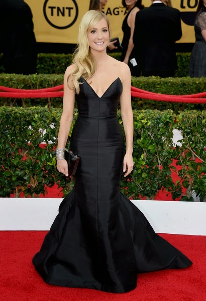 Joanne Froggatt attends the 21st Annual Screen Actors Guild Awards