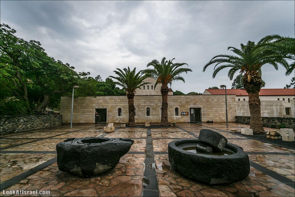 LookAtIsrael.com: Церковь Умножения Хлебов и Рыб (israel путешествия монастыри и церкви и интересно и полезно галилея )