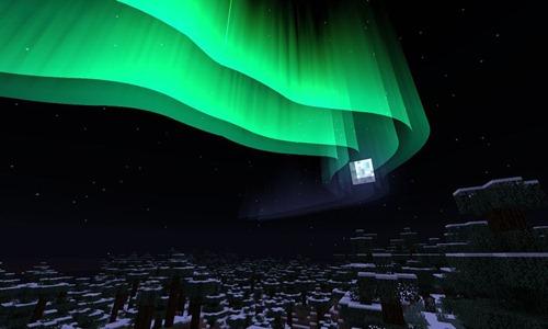 Aurora-polare-Minecraft