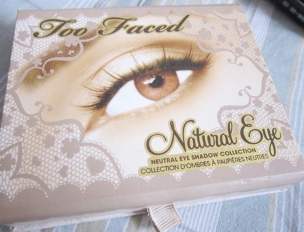 too faced natural eye palette, bitsandtreats