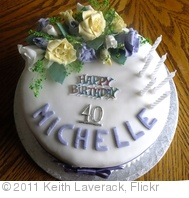 '2011 03 26_Michelle's 40th Birthday Cake_0064.JPG' photo (c) 2011, Keith Laverack - license: http://creativecommons.org/licenses/by-nd/2.0/