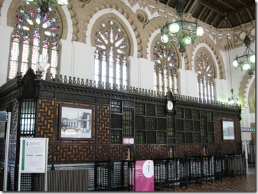 toledo train station interior