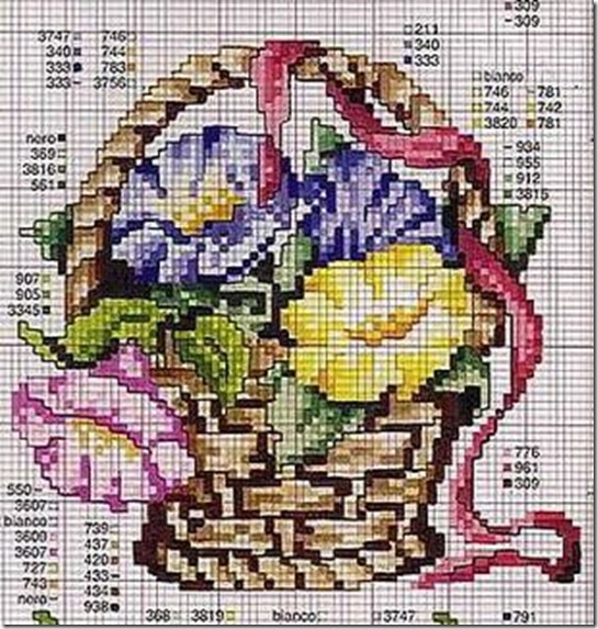 Ponto Cruz-Cross Stitch-Punto Cruz-Punto Croce-Point de Croix-286