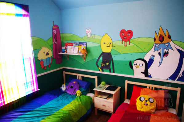 Adventure Time Bedroom from Mighty Oaks, Little Acorns 2