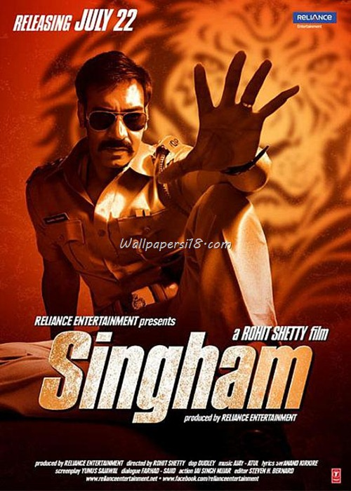 Latest Bollywood Movie Singham Wallpapers 2011