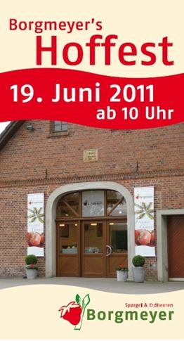 Flyer Hoffest Ladenansicht