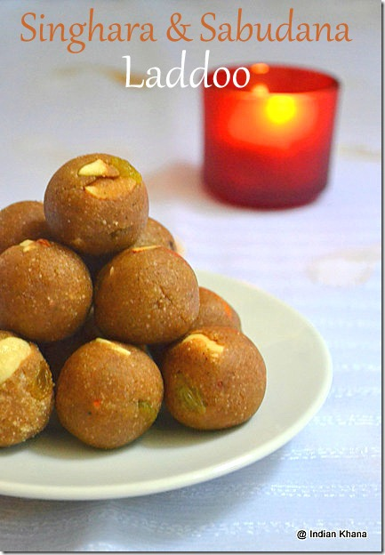 Singhara Sadbudana-ladoo-navratri-vrat-recipes