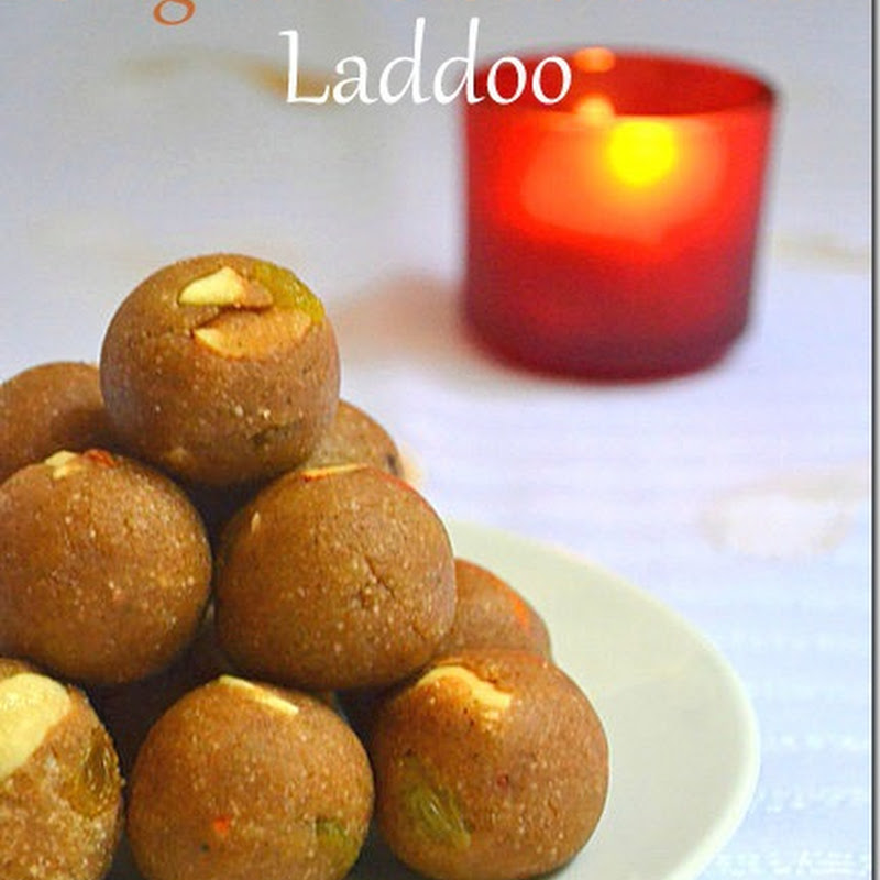 Singhara & Sabudana Laddoo | Navratri Vrat Recipes