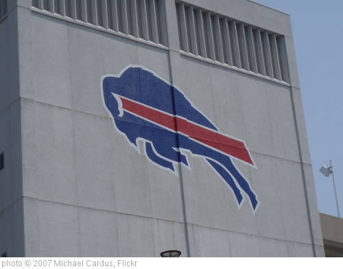 'Ralph Wilson Stadium, Buffalo Bills, Buffalo NY. Crane lift' photo (c) 2007, Michael Cardus - license: http://creativecommons.org/licenses/by/2.0/