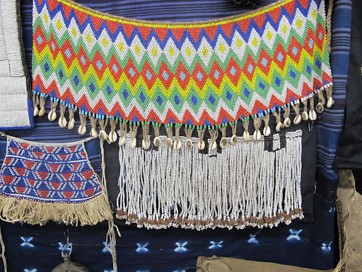 More beadwork. I love the traditional, native feel of this piece.