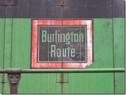 IMG_6414 Burlington Route Herald on BNSF GP38 #2075 Pacific Pride at Centralia on May 12, 2007