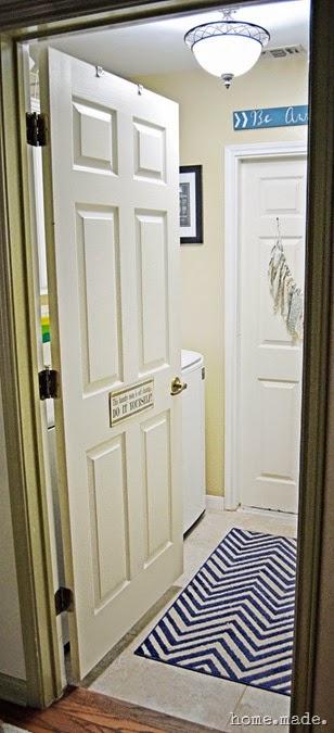 Laundry Entry Hallway