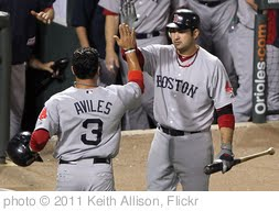 'Mike Aviles, Adrian Gonzalez' photo (c) 2011, Keith Allison - license: http://creativecommons.org/licenses/by-sa/2.0/