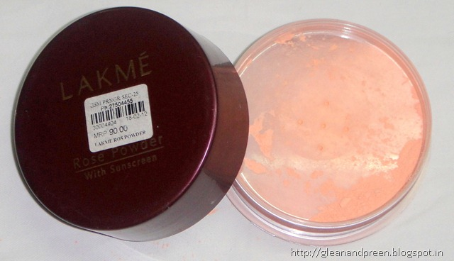 Lakme Rose Powder - Warm Pink (02)