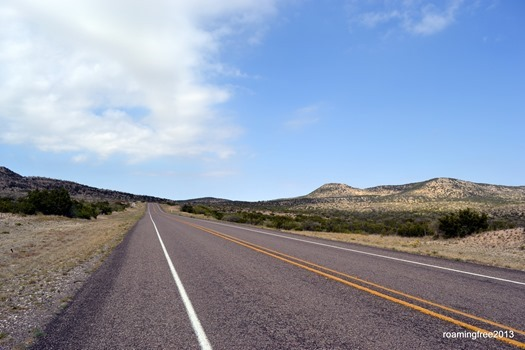 South towards Big Bend