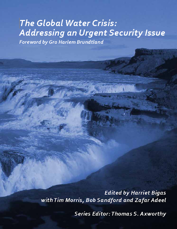 Cover of 'The Global Water Crisis: Addressing an Urgent Security Issue', InterAction Council, 2012