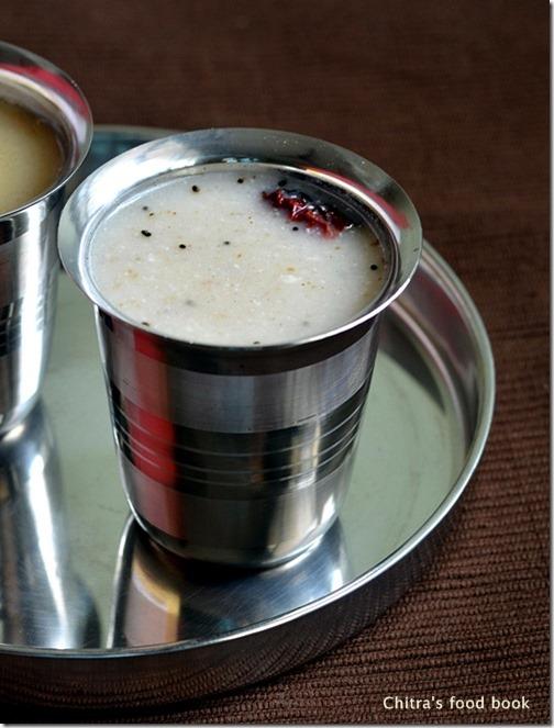 Millet porridge-savory