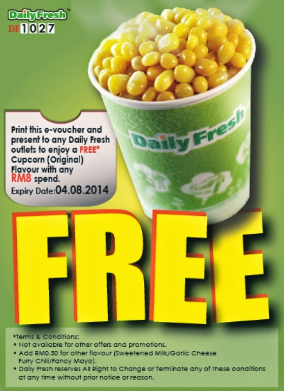 Voucher Daily fresh