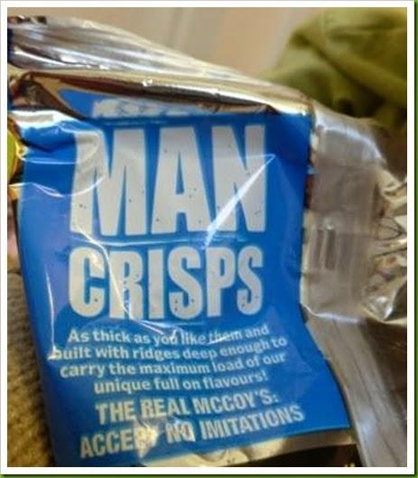 McCoys. Man Crisps