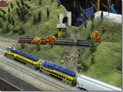 IMG_0970 Beaverton Modular Railroad Club Layout at GWAATS in Portland, OR on February 18, 2006