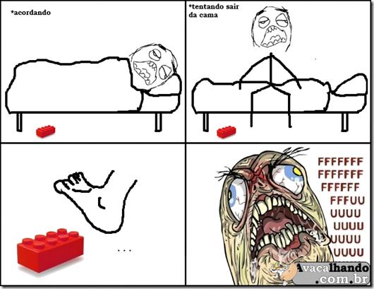 Tirinha Lego 9gag