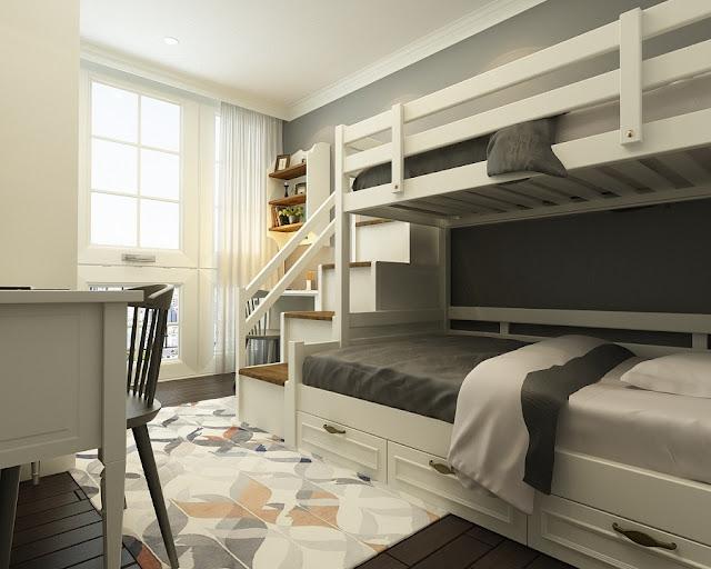 Phòng ngủ chung cư hanoi landmark 51